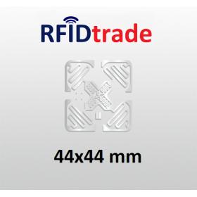 Tag RFID UHF RAIN Impinj Monza 4 44x44mm