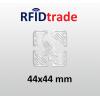 RFID UHF Tag RAIN Impinj Monza 4 44x44mm