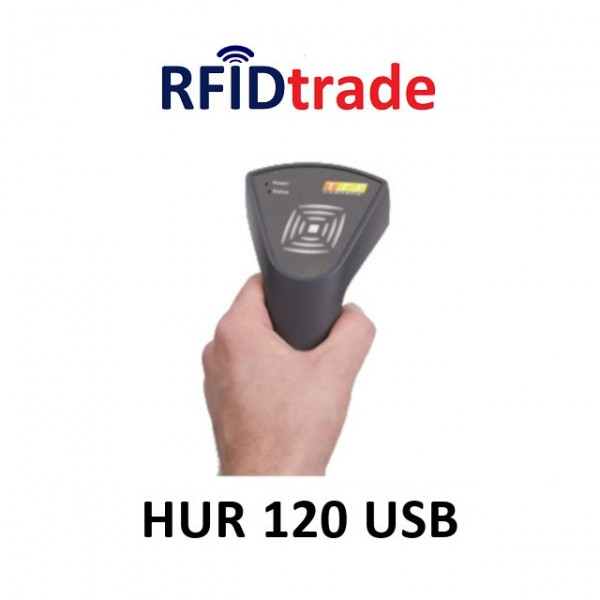 HUR 120 USB - Lettore palmare RFID UHF